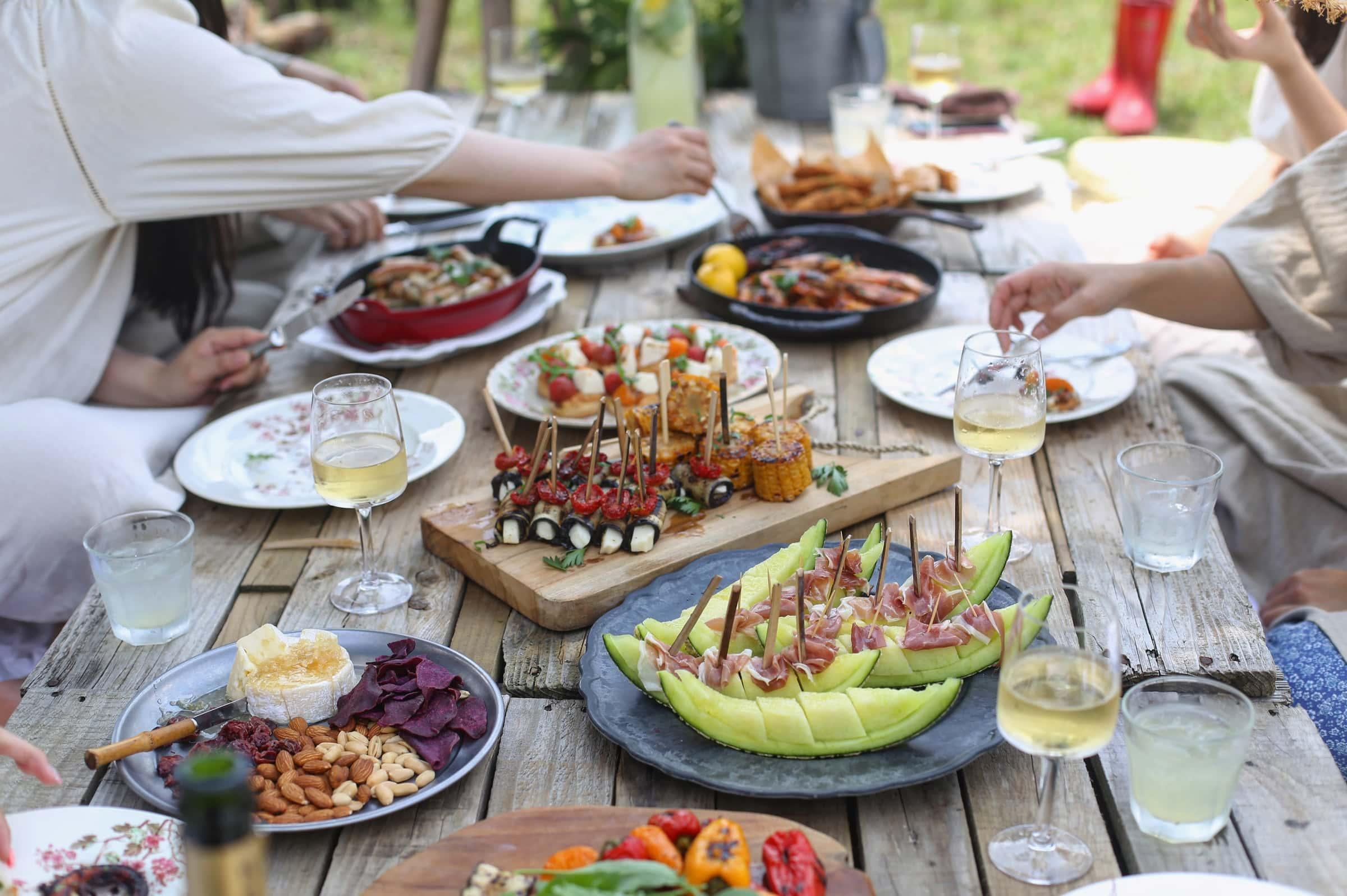 chic chef party package summer grill out
