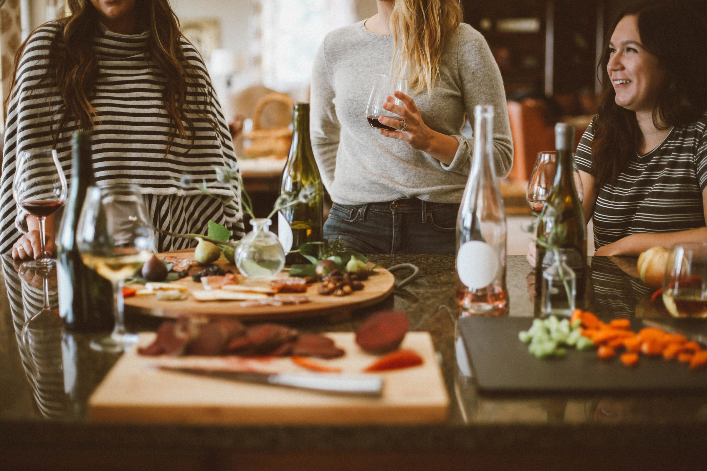 chic chef party packages